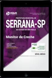Download Apostila Prefeitura de Serrana - SP PDF - Monitor de Creche