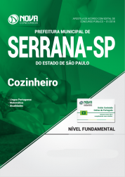 Apostila Prefeitura de Serrana - SP - Cozinheiro