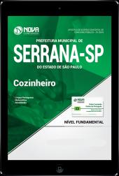Download Apostila Prefeitura de Serrana - SP PDF - Cozinheiro