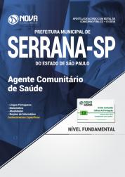 Apostila Prefeitura de Serrana - SP - Agente Comunitário de Saúde