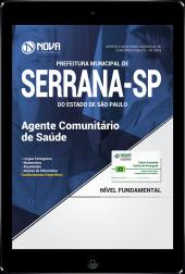 Download Apostila Prefeitura de Serrana - SP PDF - Agente Comunitário de Saúde