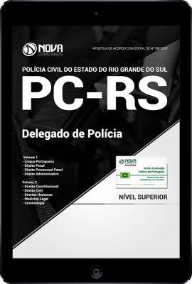 Download Apostila PC-RS PDF - Delegado de Polícia