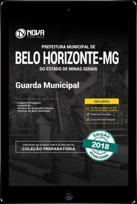 Download Apostila Prefeitura de Belo Horizonte - MG PDF - Guarda Municipal