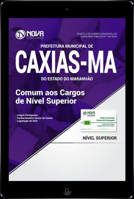 Download Apostila Prefeitura de Caxias - MA PDF - Comum aos Cargos de Nível Superior