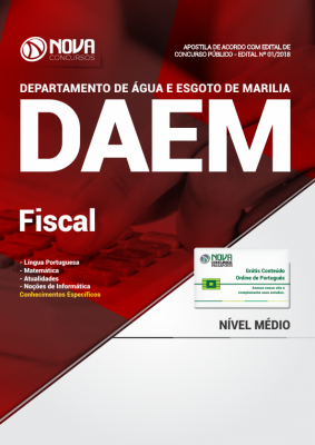 Apostila DAEM Marília SP - Fiscal