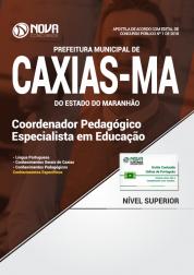 Apostila Prefeitura de Caxias - MA - Coordenador Pedagógico - Especialista em Educação