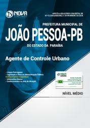 Apostila Prefeitura de João Pessoa PB (SEDURB) - Agente de Controle Urbano