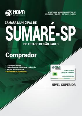 Apostila Câmara de Sumaré - SP - Comprador