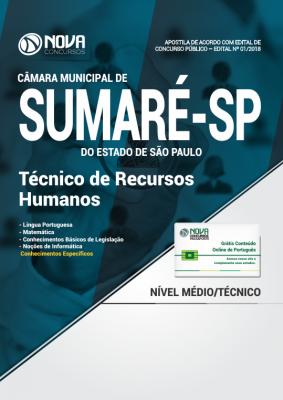Apostila Câmara de Sumaré - SP - Técnico de Recursos Humanos