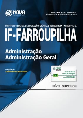 Apostila IF Farroupilha - RS - Administração - Administração Geral