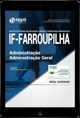 Download Apostila IF Farroupilha - RS PDF - Administração - Administração Geral