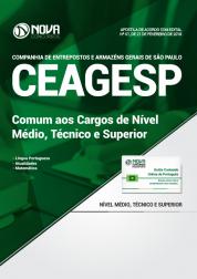 Apostila CEAGESP SP - Comum aos Cargos de Nível Médio, Técnico e Superior