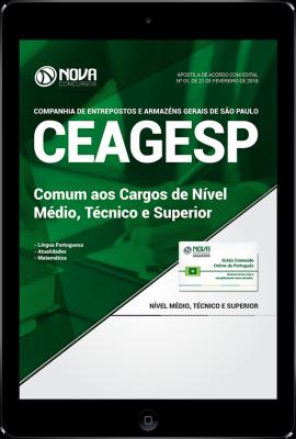 Download Apostila CEAGESP SP PDF - Comum aos Cargos de Nível Médio, Técnico e Superior
