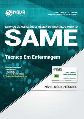 Apostila SAME Francisco Morato - SP - Técnico em Enfermagem