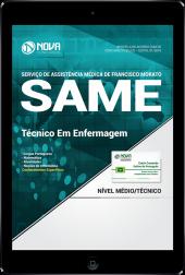 Download Apostila SAME Francisco Morato - SP PDF - Técnico em Enfermagem