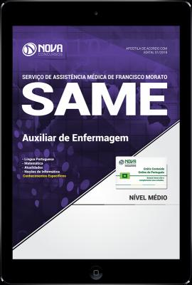 Download Apostila SAME Francisco Morato - SP PDF - Auxiliar de Enfermagem