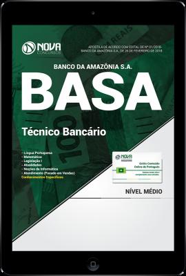 Download Apostila BASA PDF - Técnico Bancário