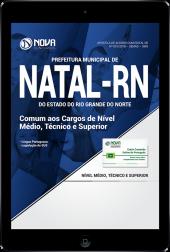 Download Apostila Prefeitura de Natal - RN (SMS) PDF - Comum aos Cargos de Nível Médio, Técnico e Superior