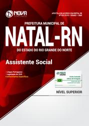 Apostila Prefeitura de Natal - RN (SMS) - Assistente Social