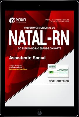 Download Apostila Prefeitura de Natal - RN (SMS) PDF - Assistente Social