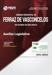 Apostila Câmara de Ferraz de Vasconcelos - SP - Auxiliar Legislativo