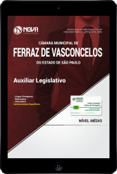 Download Apostila Câmara de Ferraz de Vasconcelos - SP PDF - Auxiliar Legislativo