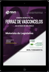 Download Apostila Câmara de Ferraz de Vasconcelos - SP PDF - Motorista do Legislativo
