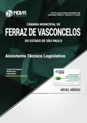 Apostila Câmara de Ferraz de Vasconcelos - SP - Assistente Técnico Legislativo