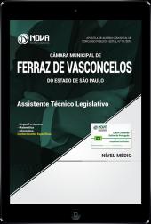 Download Apostila Câmara de Ferraz de Vasconcelos - SP PDF - Assistente Técnico Legislativo