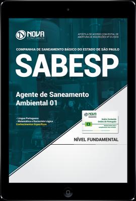 Download Apostila SABESP PDF - Agente de Saneamento Ambiental 01