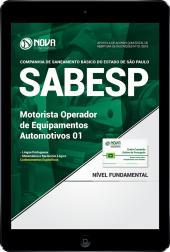 Download Apostila SABESP PDF - Motorista Operador de Equipamentos Automotivos 01