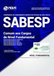 Apostila SABESP - Comum aos Cargos de Nível Fundamental