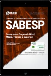 Download Apostila SABESP PDF - Comum aos Cargos de Nível Médio, Técnico e Superior