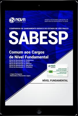 Download Apostila SABESP PDF - Comum aos Cargos de Nível Fundamental