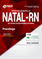 Apostila Prefeitura de Natal - RN (SMS) - Psicólogo