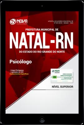Download Apostila Prefeitura de Natal - RN (SMS) PDF - Psicólogo