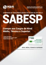 Apostila SABESP - Comum aos Cargos de Nível Médio, Técnico e Superior