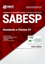 Apostila SABESP - Atendente a Clientes 01