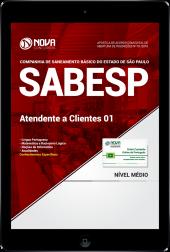 Download Apostila SABESP PDF - Atendente a Clientes 01
