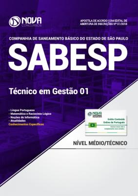 Apostila SABESP - Técnico em Gestão 01