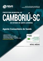 Apostila Prefeitura de Camboriú - SC - Agente Comunitário de Saúde