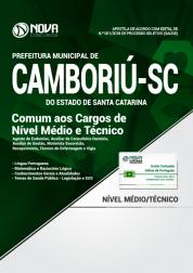 Apostila Prefeitura de Camboriú - SC - Comum aos Cargos de Nível Médio e Técnico