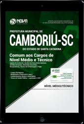 Download Apostila Prefeitura de Camboriú - SC PDF - Comum aos Cargos de Nível Médio e Técnico