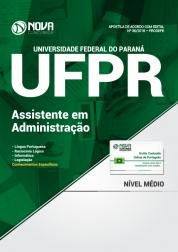 Apostila UFPR - Assistente em Administração