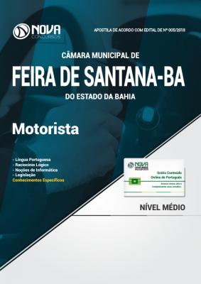 Apostila Câmara de Feira de Santana - BA - Motorista