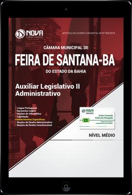 Download Apostila Câmara de Feira de Santana - BA PDF - Auxiliar Legislativo II - Administrativo