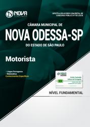 Apostila Câmara de Nova Odessa - SP - Motorista