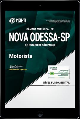Download Apostila Câmara de Nova Odessa - SP PDF - Motorista