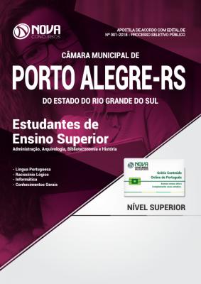 Apostila Câmara de Porto Alegre - RS - Estudantes de Nível Superior