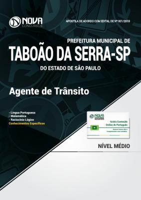 Apostila Prefeitura de Taboão da Serra -SP - Agente de Trânsito